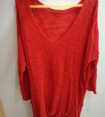 Tanki crveni pulover %%% RASPRODAJA