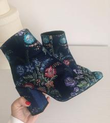 ZARA cvijetne cipele