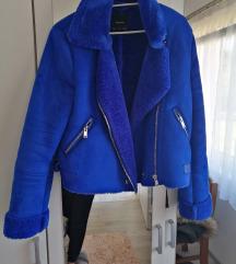 Aviator plava jakna