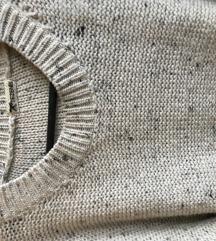 Tezenis oversize debeli pulover