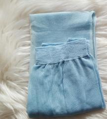 Elly nove svjetlucave plave najlonke, vintage