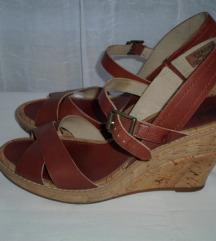 TIMBERLAND kožne sandale - platforme br.39,5