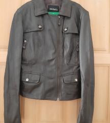 Max&Co, kožna smeđa jakna
