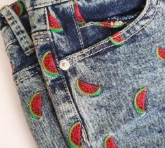 %% ANN CHRISTINE traper shorts s lubenicama