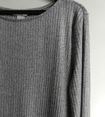 Srebrna H&M majica