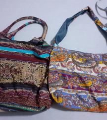 lot indijskih platnenih torbi