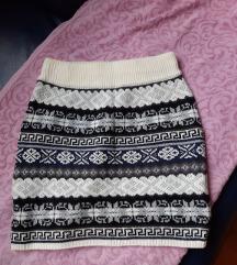 ❤️ Sweater Project suknja / šos (L) ❤️