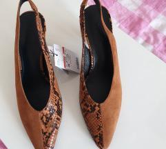 Mango kožne sandale