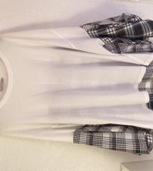 Majica/ kosulja sa sirokim rukavima