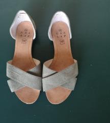 Shoe box kožne ljetne sandale