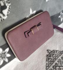 Novčanik clutch case torbica💜 3u1✨NOVO