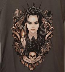Ženska kratka majica print Wednesday Addams