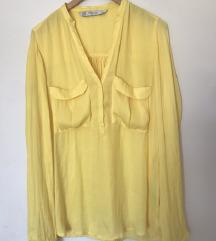 Žuta košulja Zara POŠTARINA UKLJUČENA