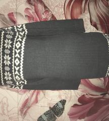 Debela zimska haljina