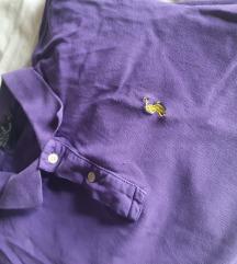 Ralph Lauren kratka polo majica Ljubičasta