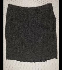 Vunena suknja s pt