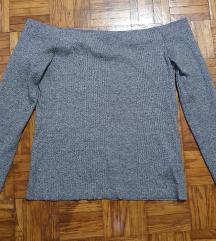 H&M off shoulder majica (45 kn)