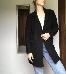 Vero moda crni kaput muškog kroja