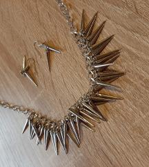 Ogrlica + gratis naušnice