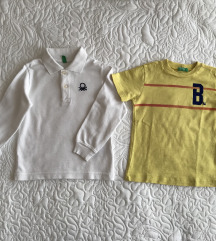Benetton majice 2 g