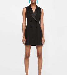 Zara sako haljina crna