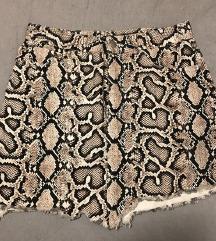 Zara snake print suknja