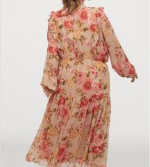 H&m + nova cvijetna haljina 3XL