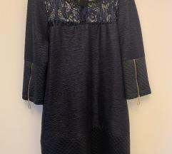 Tamnoplava haljina/tunika