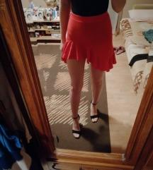 Asos asimetrična suknja sa volanom