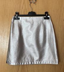 Metalic suknja Zara
