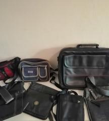 LOT muskih torbi