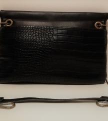Crna clutch torbica (Zara)