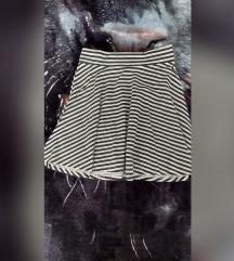 Prugasta suknjica