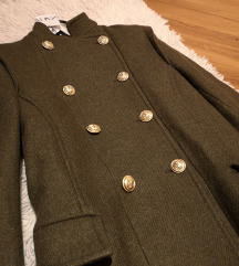 Zara kaput (novo, s etiketom)