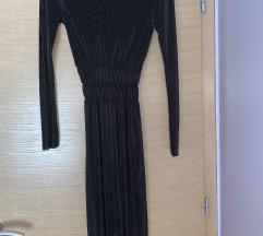 ZARA rastezljiva midi haljina