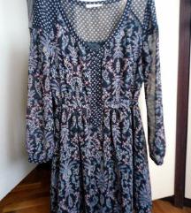 Cvjetna tunika/haljina, Bershka