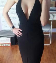 Crna uska haljina - Bardot - novo s etiketom