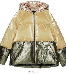Zara puffer jakna M oversize