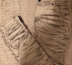 Original prljavo bijele Galliano traperice