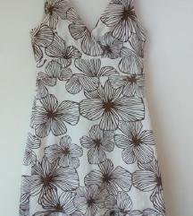 Ljetna bijela haljina od lana Esprit 36