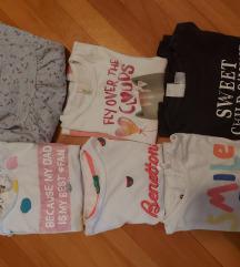 Lot majici kratkih rukava za djevojčice