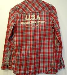 NOVA Zimska karirana košulja, S/M