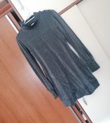Bik Bok srebrna haljina tunika