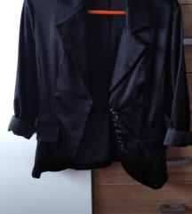 Crni sako satenski S