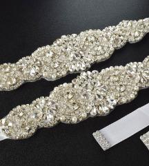 Bijeli vjenčani remen - SADA 150 kn !!!