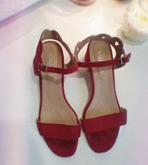 Otvorene niske sandale