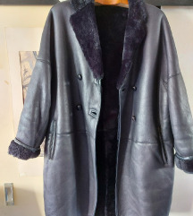 Kožni kaput s krznom, Jil Sander ORIGINAL, 900 Kn