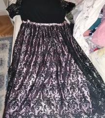 Svečana haljina plus size