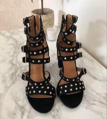 Crne sandale