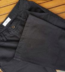 MANGO crne trapez hlače / NOVO